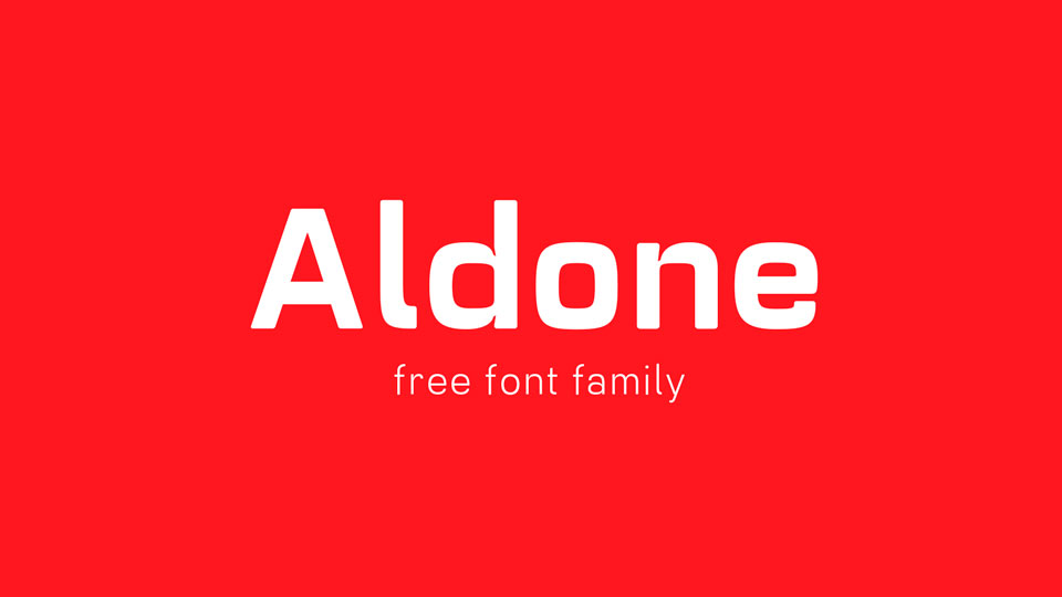 aldonefreefontfamily