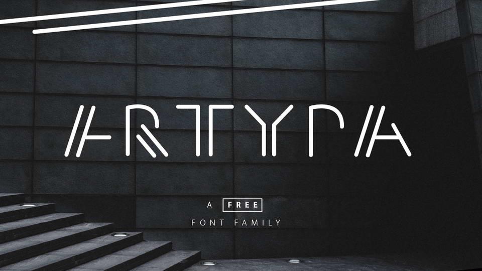 artypafreefontfamily