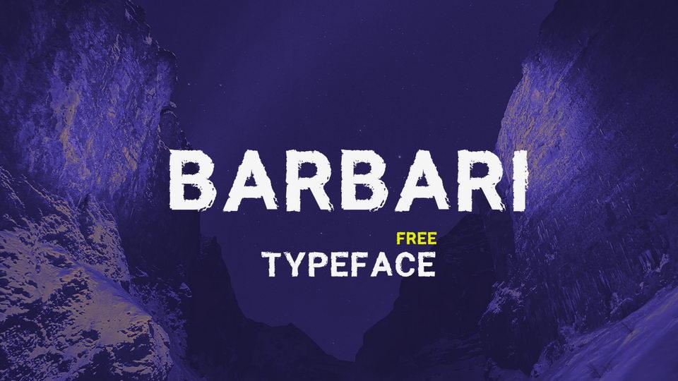 barbarifreefont