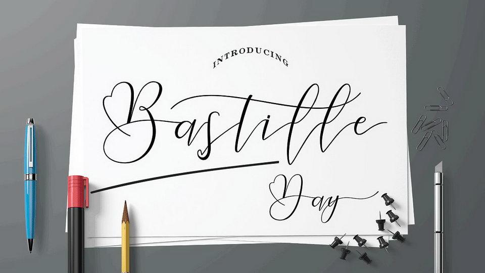 bastilledayfont