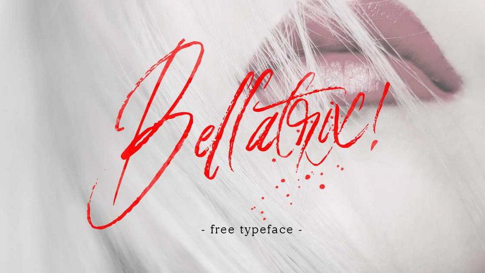 bellatrixfreefont