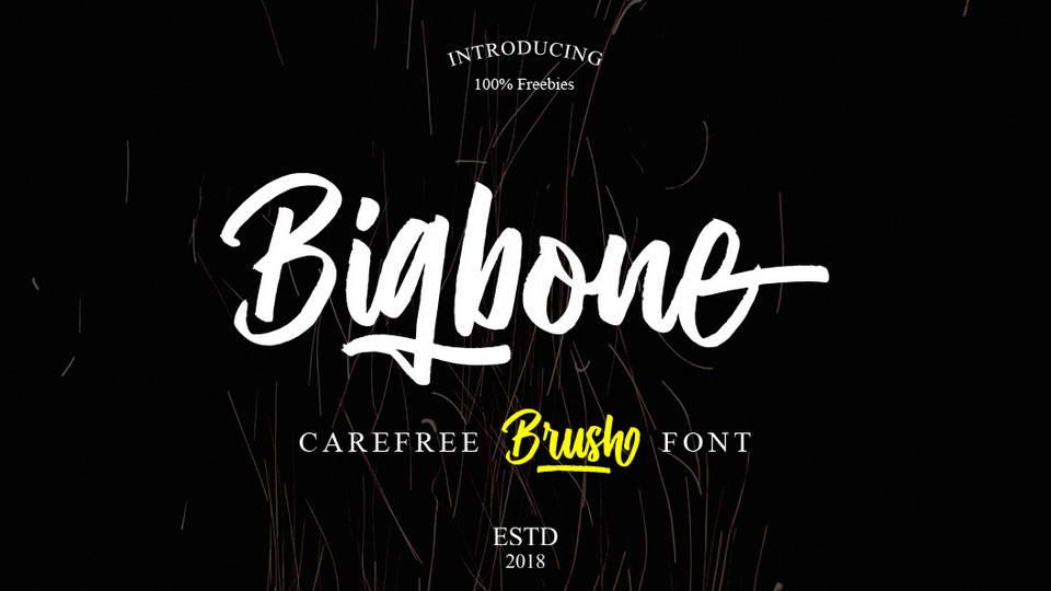 bigbonefreefont