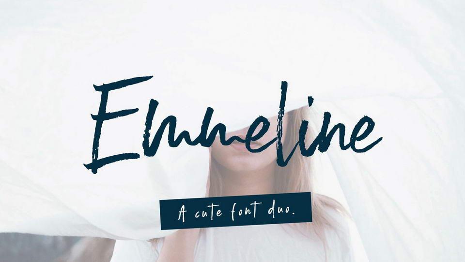 emmelinefreefont