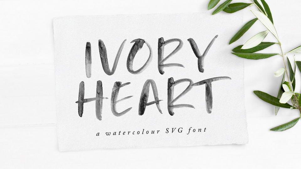 ivoryheartfreefont