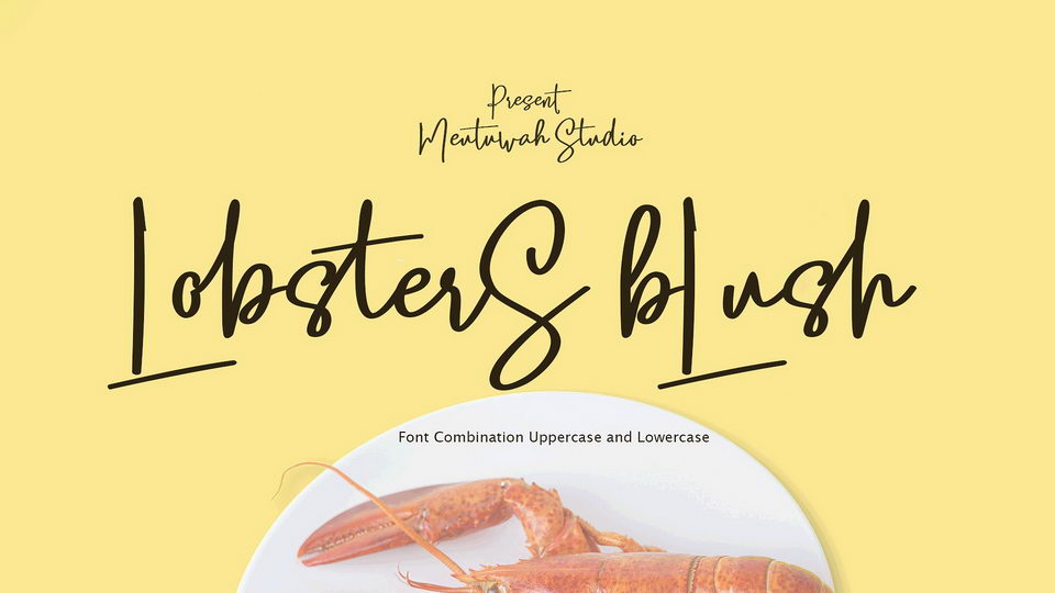 lobstersblushfont