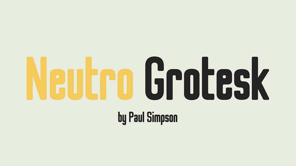 neutrogroteckfreefont