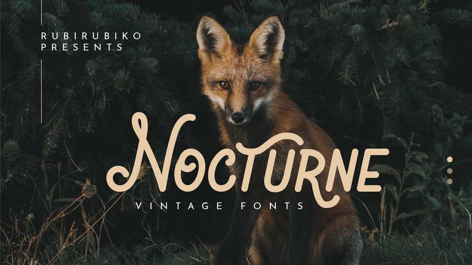 nocturnefreefont