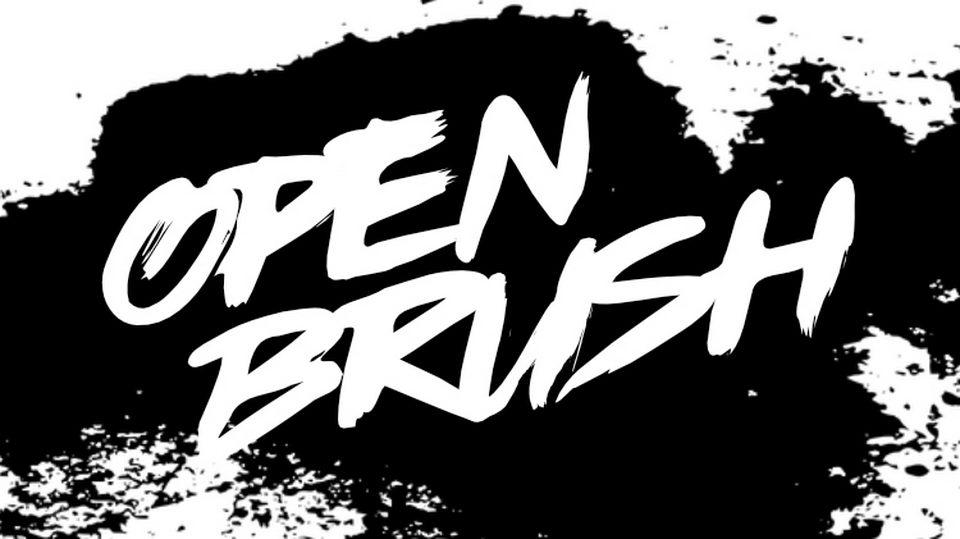 openbrushfont