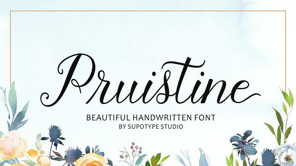 pruistinefreefont