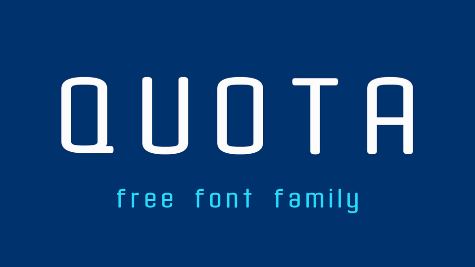 quotafreedownloadfont