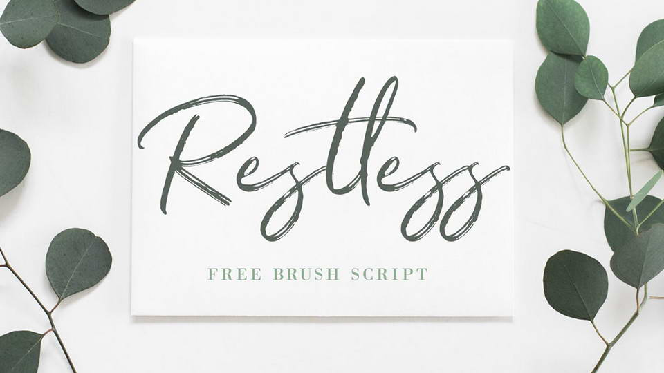 restlessfreefont