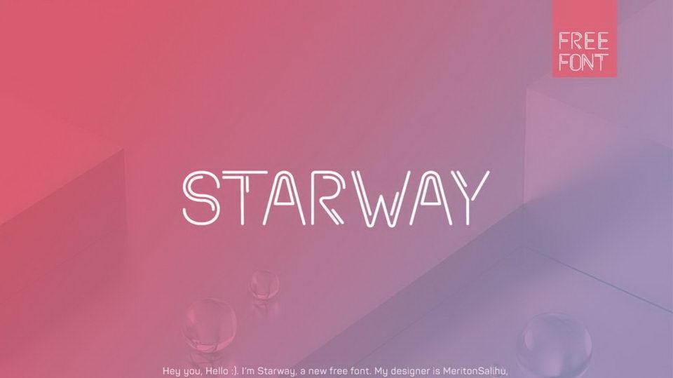 starwayfontfree