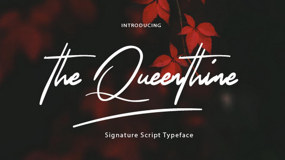 thequeenthinefreefont