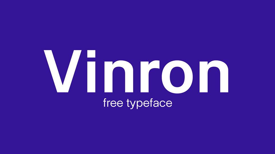 vinronfreefont