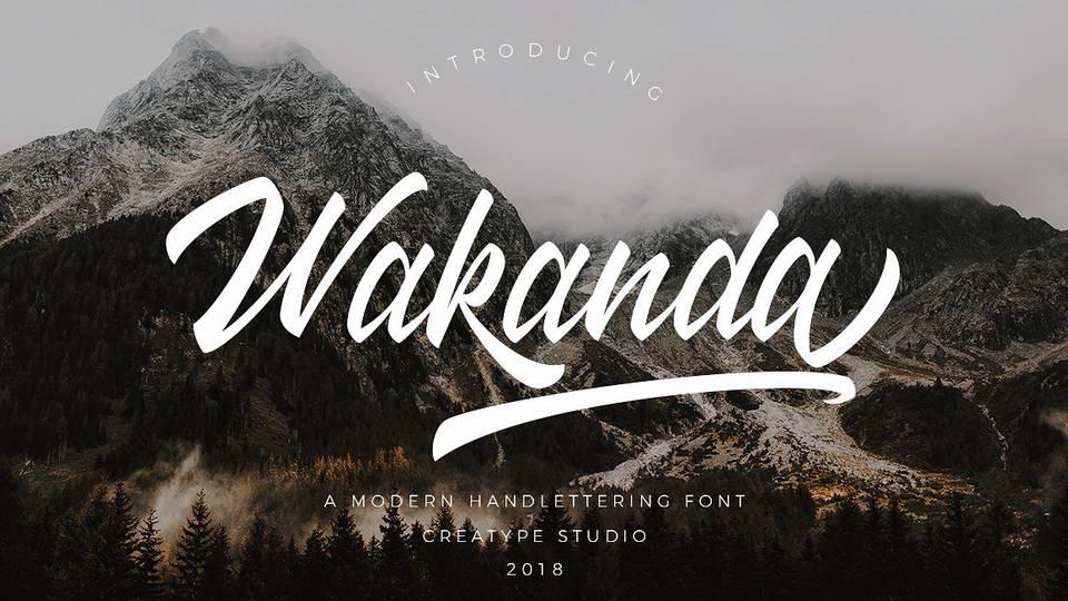 wakandafreefont