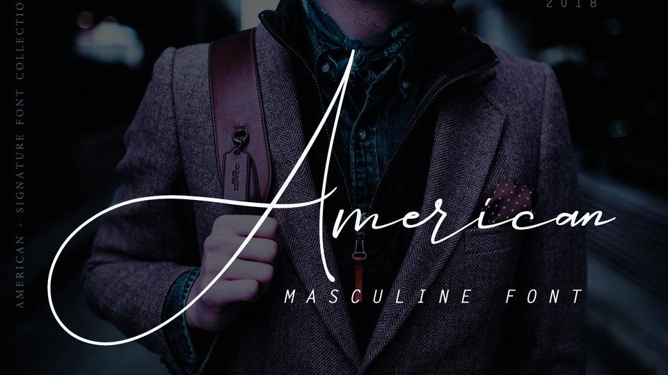 americansignaturefont