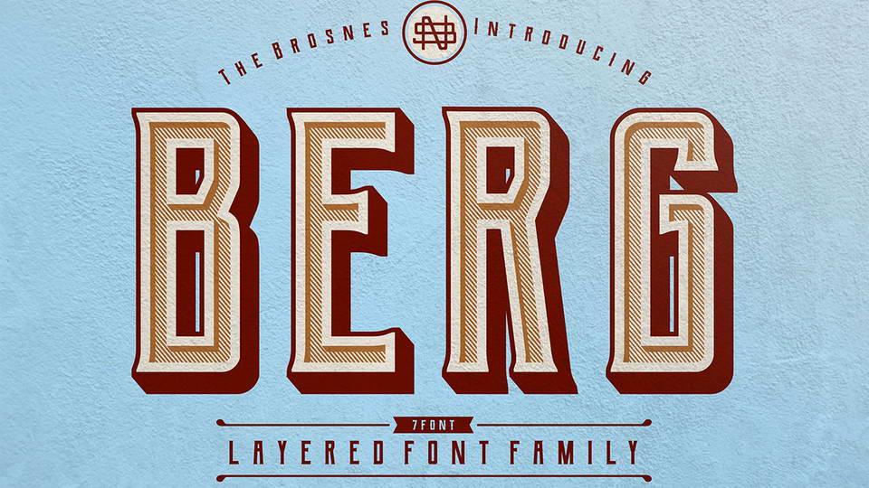 bergfreefontfamily