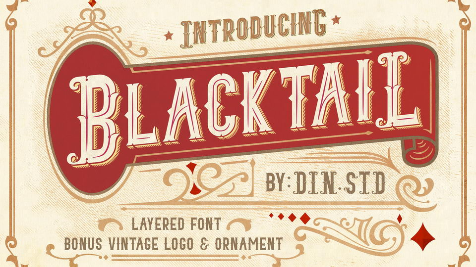 blacktailfont