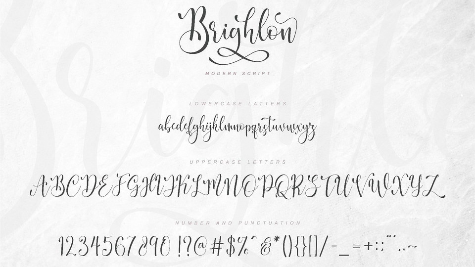 brighlonscriptfont