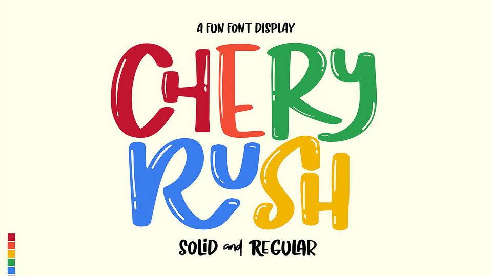 cheryrushfont