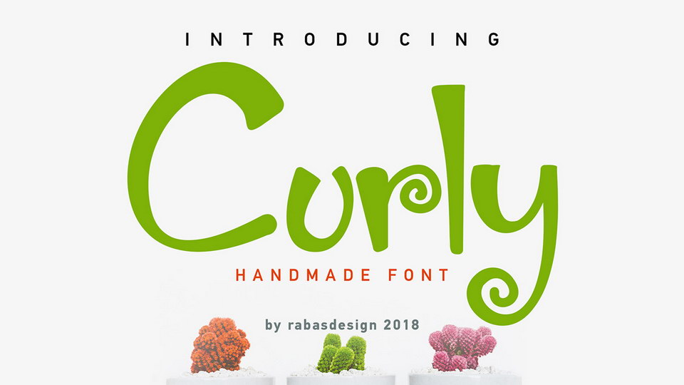 curlyfreefont