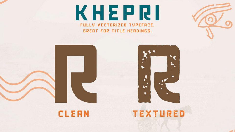 khepritypeface