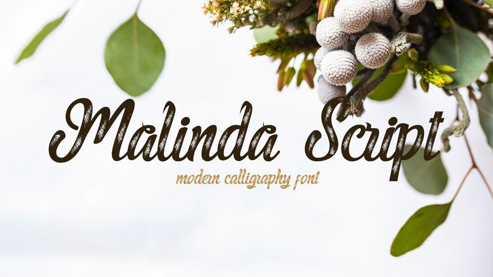 malindascriptfreefont