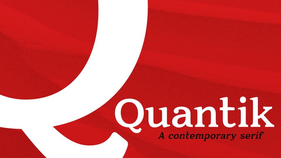 quantikfont