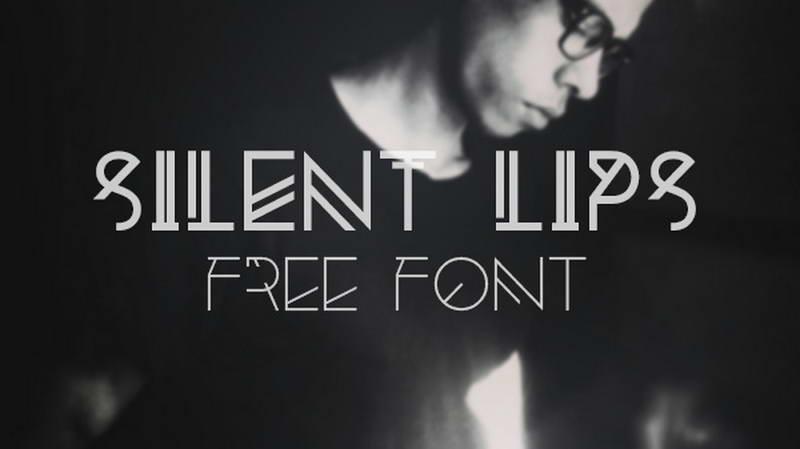 silentlipsfreefont