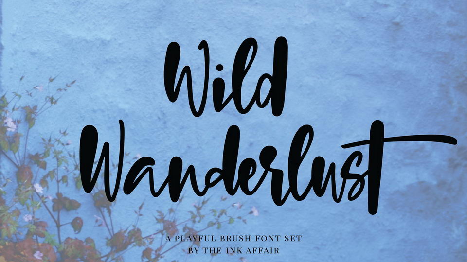 wildwanderlustfont