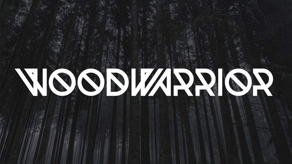woodwarriorfreefont