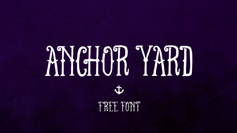 anchoryardfreefont