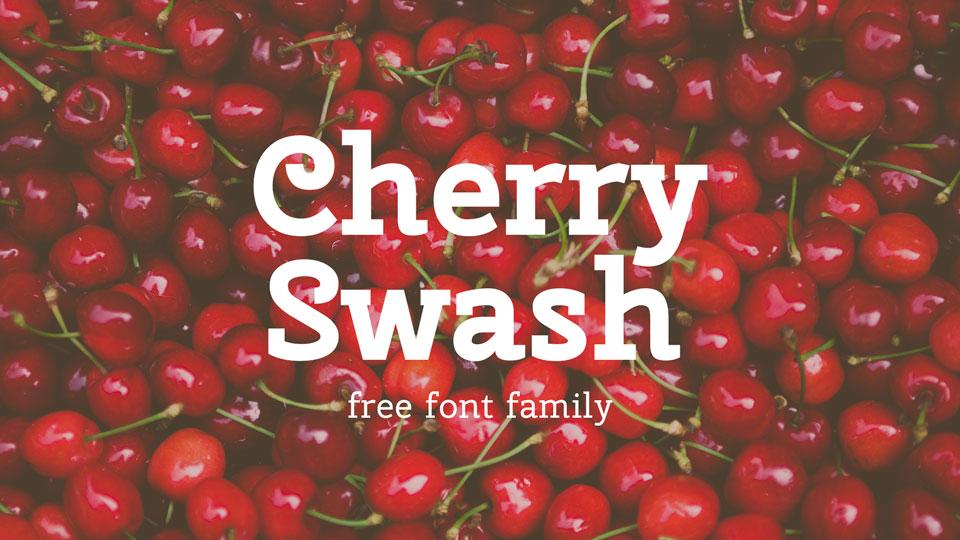 cherryswashfreefont