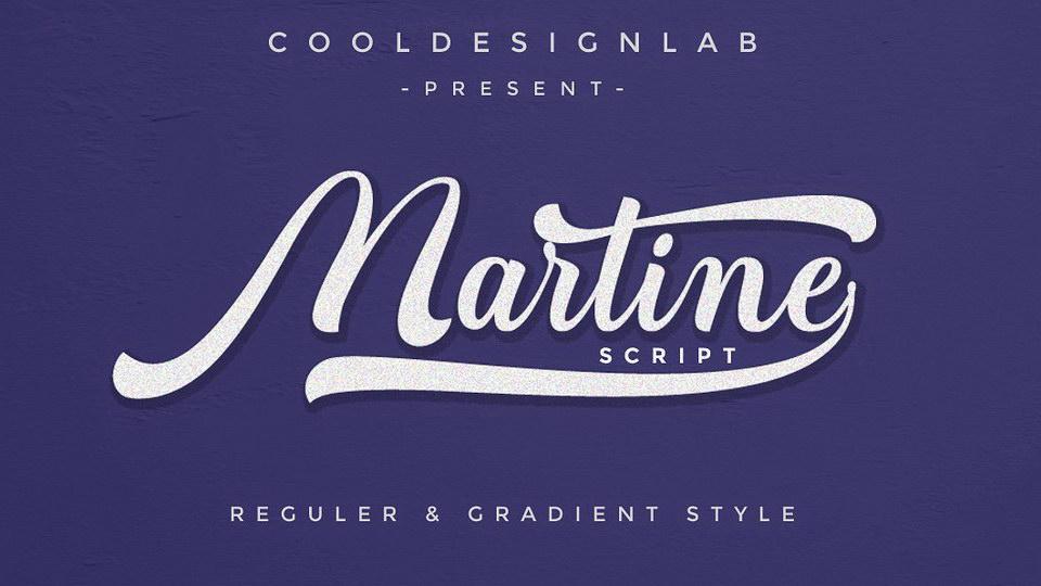 martinescriptfont