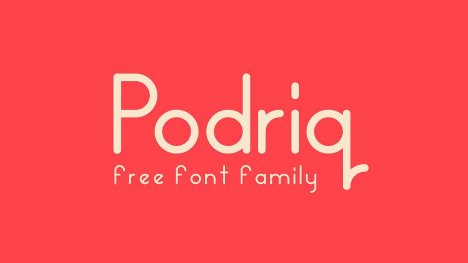 podriqfreefont