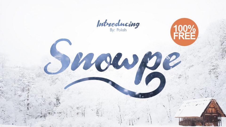 snowpefreefont