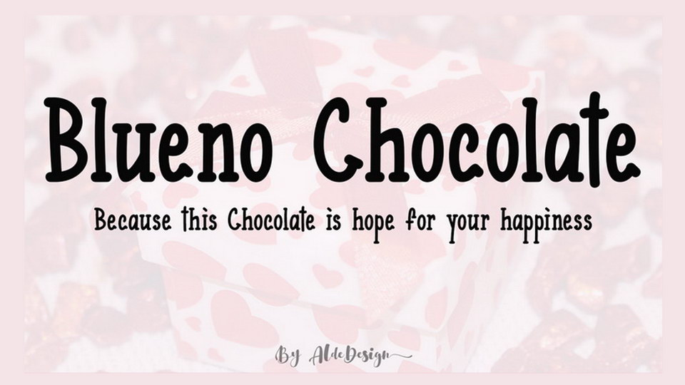 bluenochocolatefont