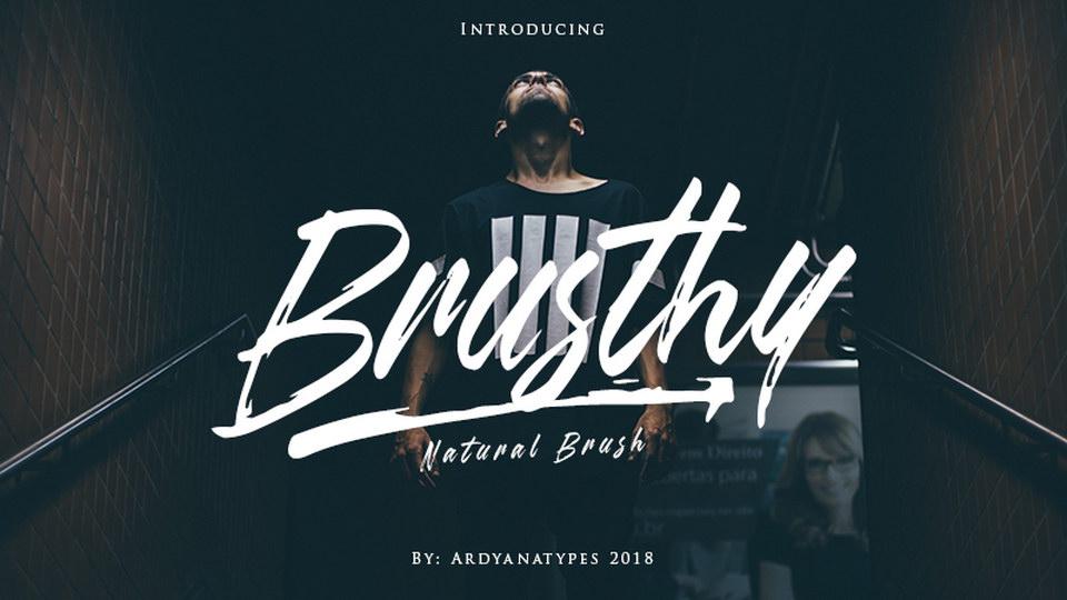 brushtyfreefont