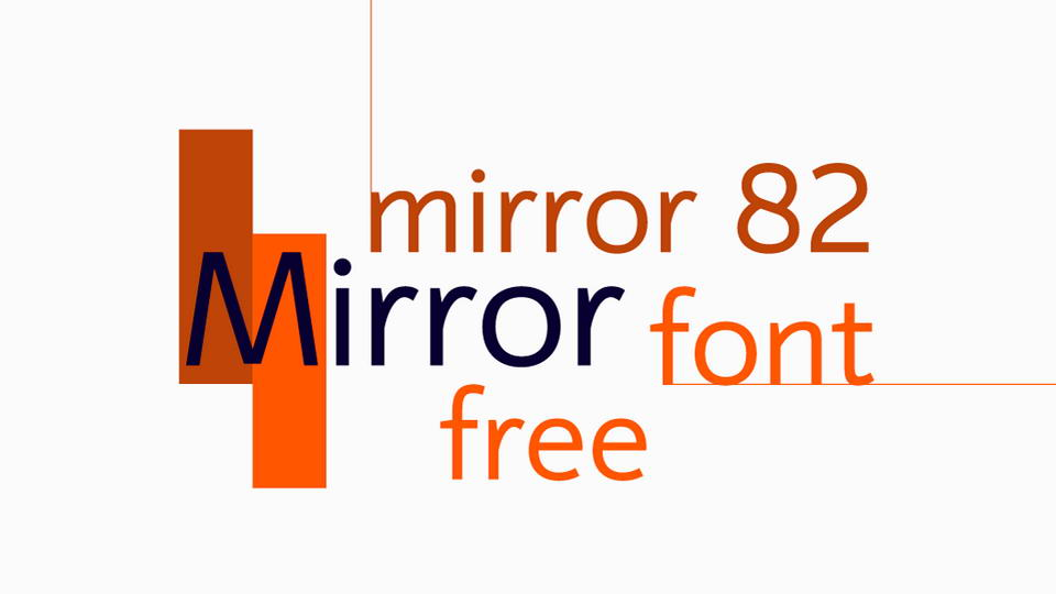 mirror82freefont
