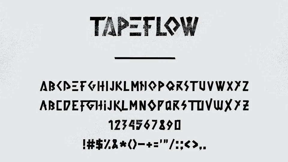 tapeflowfreefont