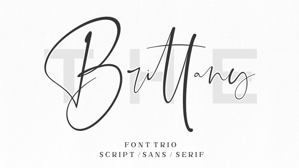the_brittany_font