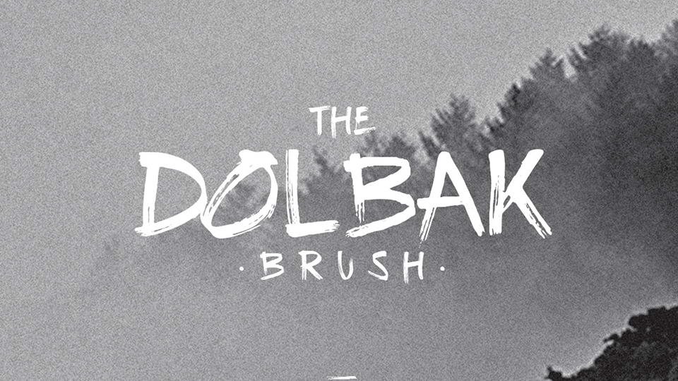 thedolbakbrushfreefont