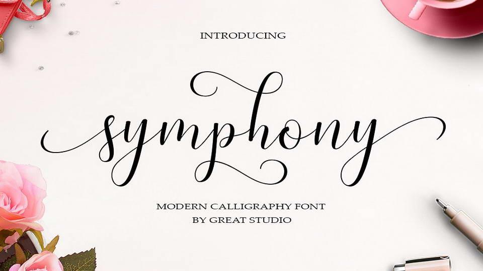 symphonyfreefont