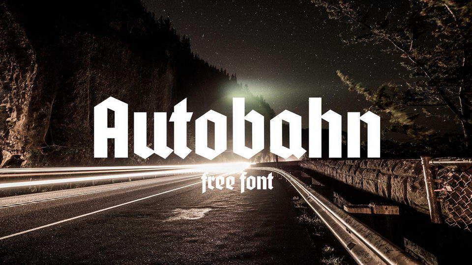 autobahnfont