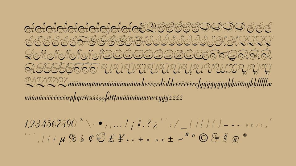 symphonie font