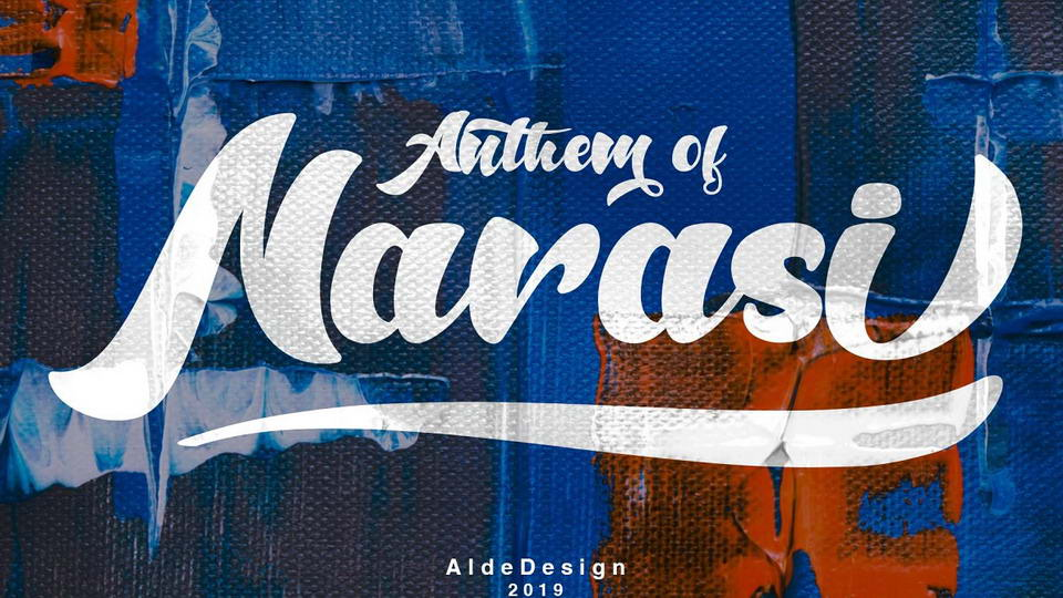 anthem of narasi font