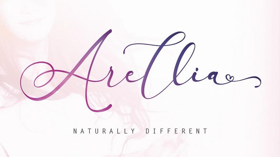 arellia font