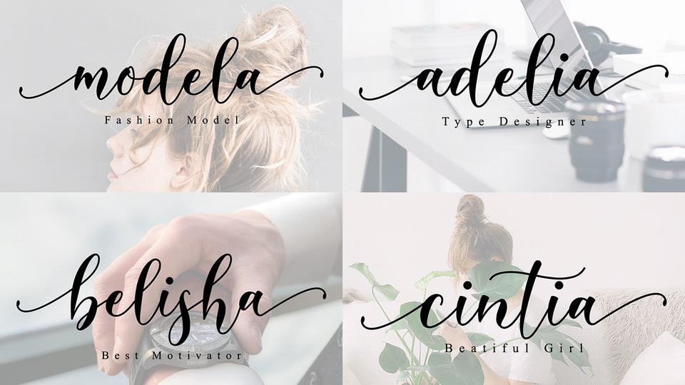 free belista font