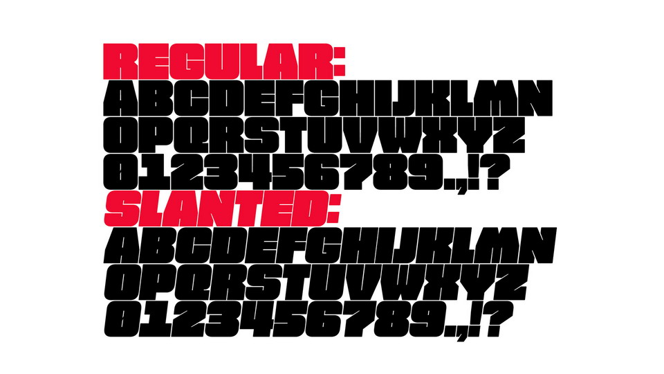 free fat typeface