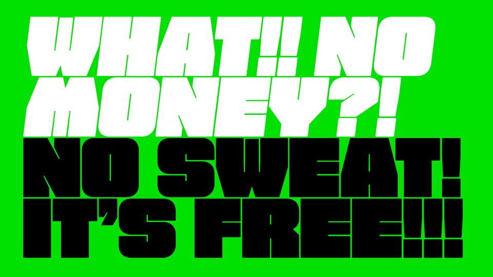 free fat font download